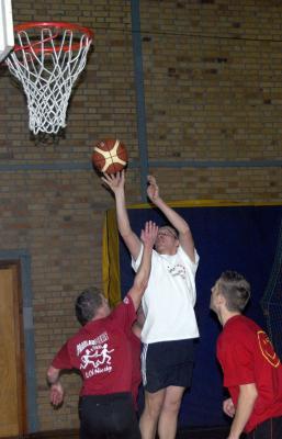 Foto zur Meldung: Traditionelles Basketballturnier 2007