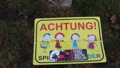 Foto zur Meldung: Dumme jungen Streiche oder doch Vandalismus?