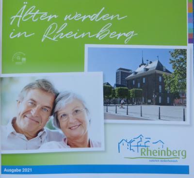 """Broschüre """"Älter werden in Rheinberg"""""""