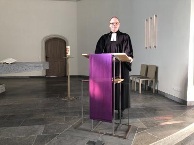 Foto zur Meldung: Gottesdienst zum 28.2.2021 in der Johanneskirche