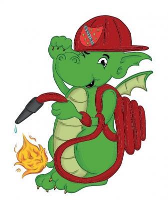 Ich bin Juki der Feuerwehrdrache