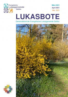 Titelseite Lukasbote März - Mai 2021