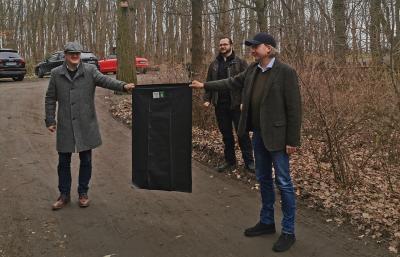 Müllsammelaktion im Stadtwald / K.Matussek