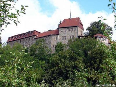 Sperrung des Parkplatzes auf der Burg Creuzburg