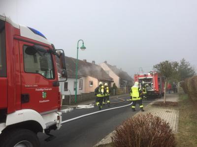 Feuerwehreinsatz in Ütteroda