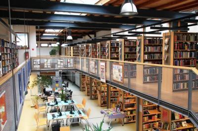 Foto zu Meldung: 20 Jahre Stadtbibliothek Beeskow in der Kupferschmiede