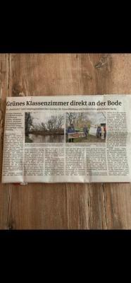 Pressemitteilung Volksstimme Oschersleben vom 02.03.2021