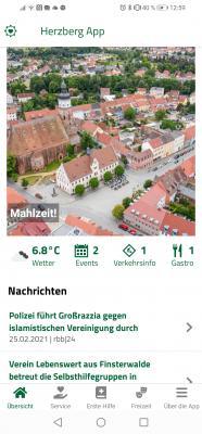 Die Herzberg-App ist da