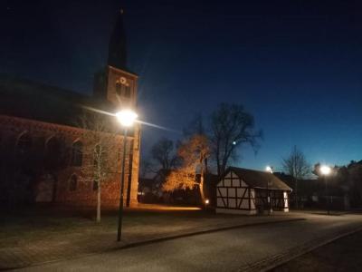 Neue Straßenbeleuchtung in Züllsdorf