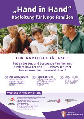 Bild der Meldung: Ehrenamtliche für die Begleitung junger Familien gesucht