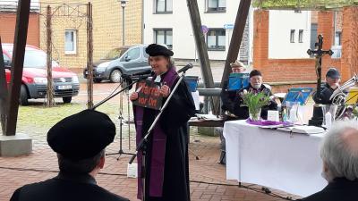 Verabschiedung von Pfarrer Kölbel