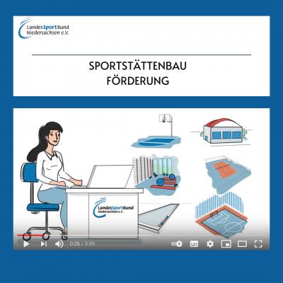 Foto zur Meldung: YouTube Tutorial: Sportstättenbauförderung des LSB