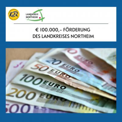 Bild der Meldung: € 100.000 Förderung des Landkreises Northeim