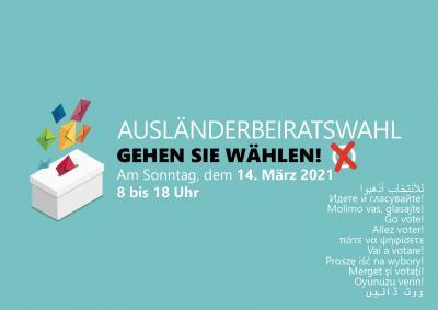 Foto zur Meldung: Ausländerbeiratswahl - Gehen Sie wählen!