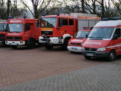 KFW - Gerätewagen Gefahrgut umgezogen