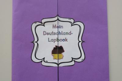 Foto zur Meldung: Klasse 4a: Deutschland-Lapbook