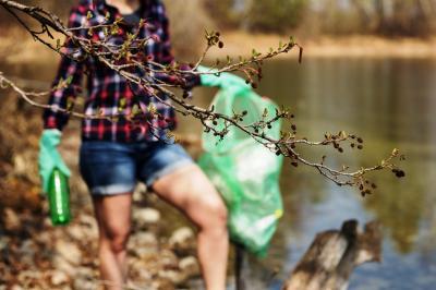 Foto zur Meldung: Müllsammelaktion in Beeskow und Ortsteilen