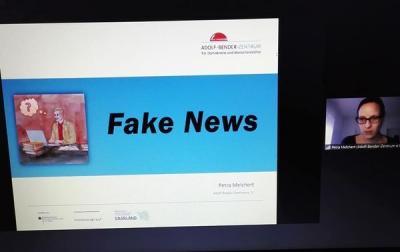 """Vortrag zum Thema """"Fake News"""" und Hate Speech"""