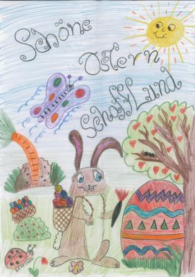 Foto zur Meldung: Tolle Osterbilder beim Malwettbewerb