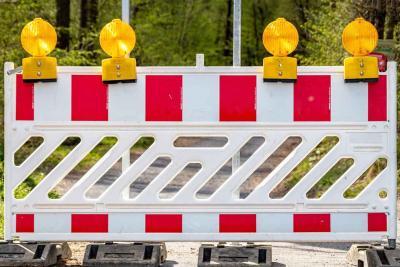 Vollsperrungen in Schneeberg