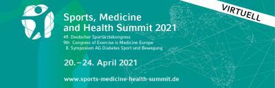 Noch 6 Wochen bis zum Sports, Medicine and Health Summit!