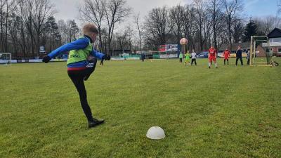 Foto zur Meldung: Jugend - Erstes Training nach langem Lockdown