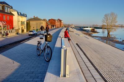 Bereits jetzt kann sich der neu gestaltete Bereich der Elbstraße sehen lassen I Foto: Gerhard Baack
