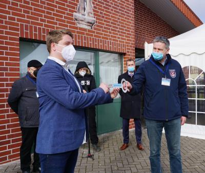Foto zur Meldung: Landkreis Prignitz: Impfzentrum in Perleberg eröffnet