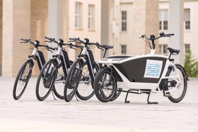 Kostenfrei Pedelecs, Lastenräder oder E-Bikes testen