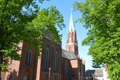 Die Evangelische Stadtkirche Wittenberge I Foto: Martin Ferch