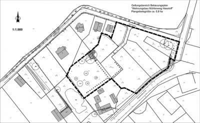 """Bekanntmachung der Gemeinde Mühlenfließ über die öffentliche Auslegung des Entwurfes des Bebauungsplanes  """"Wohnungsbau Mühlenweg Haseloff"""""""