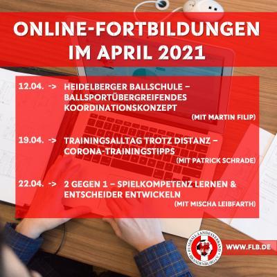 FLB-Online-Fortbildungen im April
