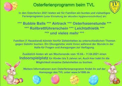 Osterferienprogramm für Familien