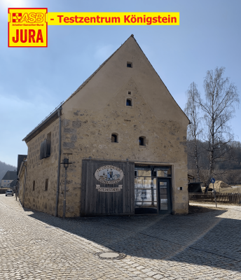 Foto zur Meldung: ASB-Testzentrum in Königstein: Ab Freitag, 26.03.2021 von 17-19 Uhr Corona-Schnelltests möglich