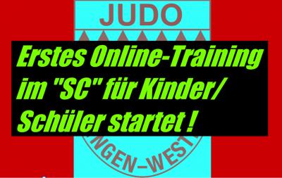 """Foto zur Meldung: Erstes Online-Training im """"SC"""" für Kinder/Schüler startet!"""