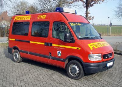 Versteigerung eines Feuerwehrfahrzeugs ELW/MZF der FF Seester