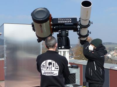 Neues Spiegelteleskop für Rodewischs Sternwarte