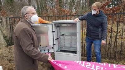 Foto zu Meldung: Glasfaser für den Landkreis Potsdam-Mittelmark