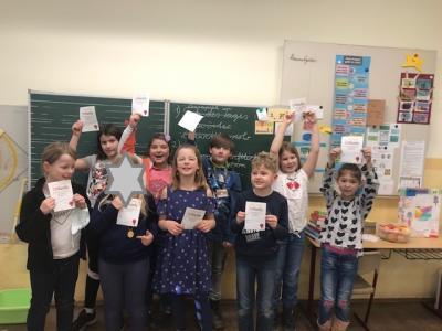 Lesewettbewerb Klasse 3b