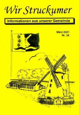 """Das Titelblatt der jüngsten """"Wir Struckumer""""-Ausgabe."""