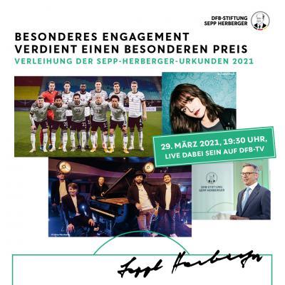 Verleihung der Sepp-Herberger-Urkunden