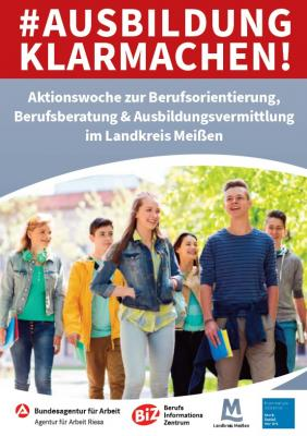 Plakat - AUSBILDUNG KLARMACHEN!