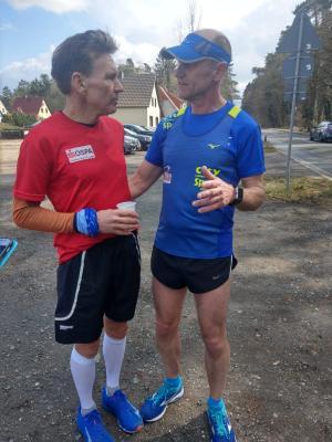 Foto zur Meldung: Marathon um Laage – Erlebnis und auch Qual