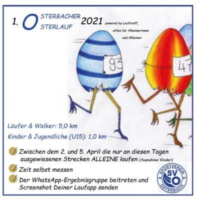 Foto zur Meldung: 1. Osterbacher Osterlauf