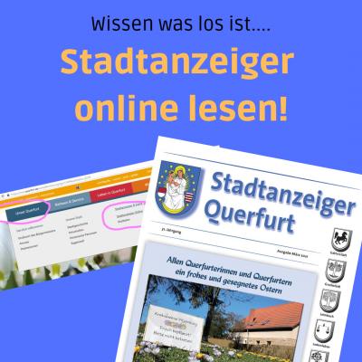 Stadtanzeiger online lesen
