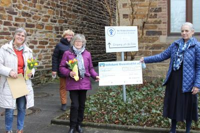 """Foto zur Meldung: Spendenübergabe Katholische Frauengemeinschaft """"St. Laurentius"""""""