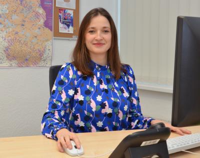 Foto zur Meldung: Hanka Rjelka blickt auf ihr erstes Jahr als hauptamtliche Sorben/Wenden-Beauftragte im Landkreis OSL