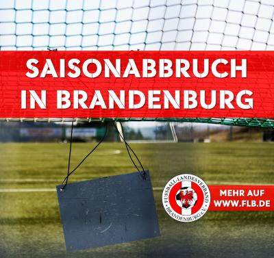 Vorzeitiger Saisonabbruch in Brandenburg