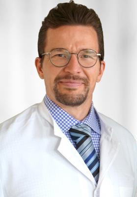Dr. med. Alexander Höinghaus, Chefarzt der Urologie im Evang. Krankenhaus Dierdorf/Selters (KHDS).