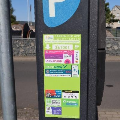 Schon gewusst: Parkticket am Bahnhof in Flieden per Handy-App lösen!